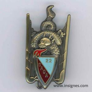 22° Groupe Aérien d'Observation d'Artillerie GAOA
