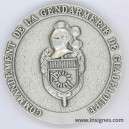 Commandement de la Gendarmerie de la GUADELOUPE m2DAILLE DE TABLE 65 mm