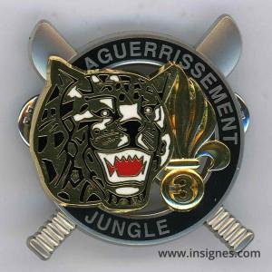 Aguerrissement Jungle 3° REI Guyane AB