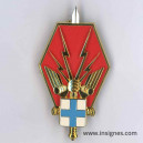EMF 3 etat-Major des Forces MARSEILLE Insigne AB
