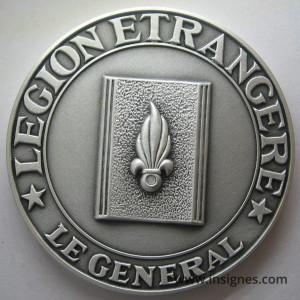 Légion Etrangére Le Général Fond de coupelle Diamètre 64 mm