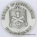 Ecole d'Artillerie DRAGUIGNAN Médaille de table 65 mm