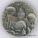 6 Juin 1944 Débarquement Parachutistes Sainte Mére l'Eglise Magnet 30 mm