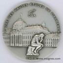 Centre Hautes Etudes Armement DGA Médaille de table 65 mm