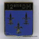 12° Division militaire Insigne Drago G 2243