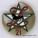 21° régiment de Zouaves Insignesans marque de fabricant