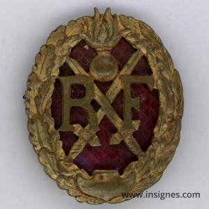 Brevet Chef de Section Infanterie Complet H 43 mm