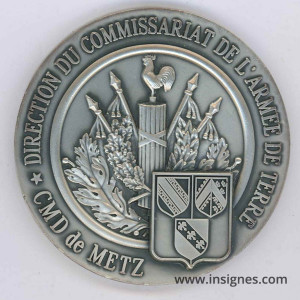 DIRCAT CMD de METZ Médaille de table 70 mm