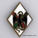 1° Régiment Etranger d'Infanterie Insigne Drago G 1198 Emaux