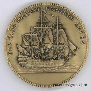 Académie de Marine Médaille de table 68 mm Drago