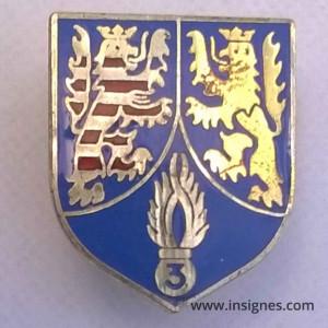 Ecu Gendarmerie 3° Légion d'Occupation en ALLEMAGNE