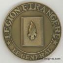 Le Général Médaille de table REI Légion Étrangère 64 mm