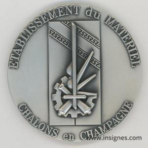 Etablissement du Matériel CHALONS EN CHAMPAGNE Médaille 70 mm