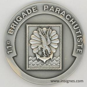 11° Brigade Parachutiste Médaille 65 mm