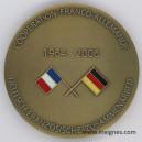 Coopération Franco-Allemande 1964-2006 Médaille 65 mm