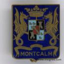 MONTCALM (fond bleu) Pastille AB