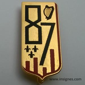 87° Régiment d'Infanterie Insigne Arthus-Bertrand G 2580