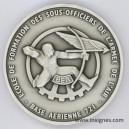 Base Aérienne 721 ROCHEFORT Ecole de Formation Médaille de table 68 mm