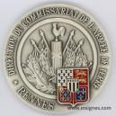 Direction du Commissariat DIRCAT RENNES Médaille de table 70 mm