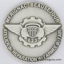 Atelier de Réparation de l'Armée de l'Air Médaille de table 65 mm