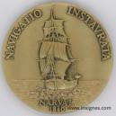 Marine oblige ACORAM Association des Officiers de Réserve Médaille 50 mm Bronze