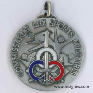 Commissariat aux Sports Militaires Médaille Championnat