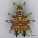 Pin's Equipe acrobatie Garde Républicaine