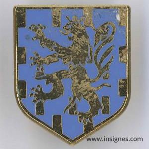 Ecu CCRG Franche Comté (lion)