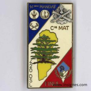 420° DSL Matériel 27° Division Alpine Finul Liban 14° Mandat
