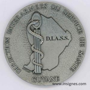 DIASS GUYANE Médaille de table