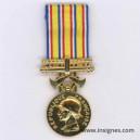 Médaille Ministère de l'Intérieur Echelon argent