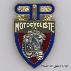 Paris - PP - Motocycliste